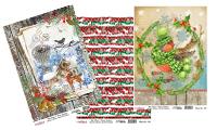 Vánoční rýžové papíry