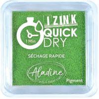 Razítkovací polštářek Izink Quick Dry, rychle schnoucí - zelená