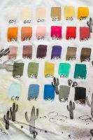 Klasická textilní barva Style Matt Fabric, 50ml - sand beige, písková