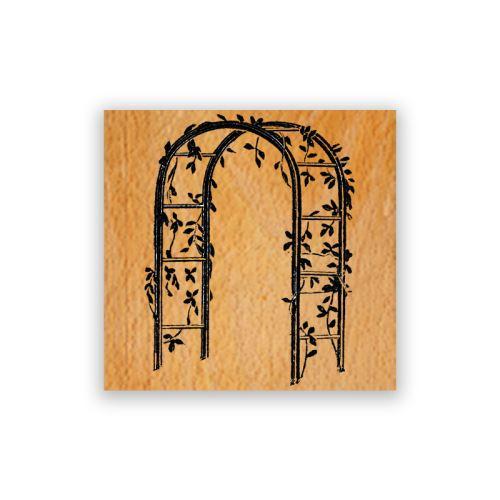 Dřevěné razítko - Svatební brána 1