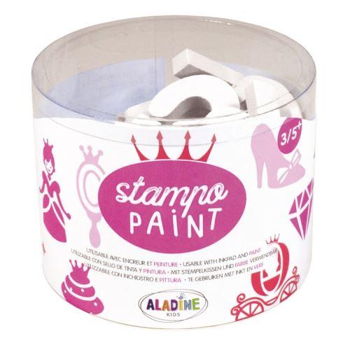 Malovací pěnová razítka StampoPaint - Princezny