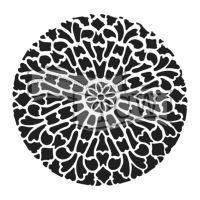 "Šablona 12""x12"" (30,5 x 30,5 cm), Old Circle Grate"