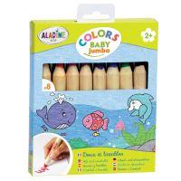 Baby pastelky ColorsBaby, 8 ks