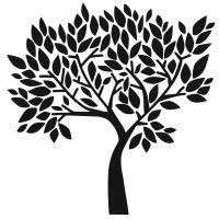 "Šablona 12""x12"" (30,5 x 30,5 cm), Faithful Tree"