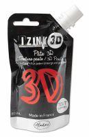 Reliéfní pasta, 3D IZINK, 80 ml - tomato, červená
