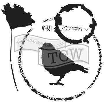 Šablona TCW -  Throughtful Bird