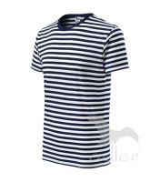 Tričko námořní modrá Sailor, vel. M - pruhované