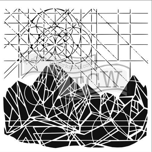 Šablona TCW -  Geometric landscape