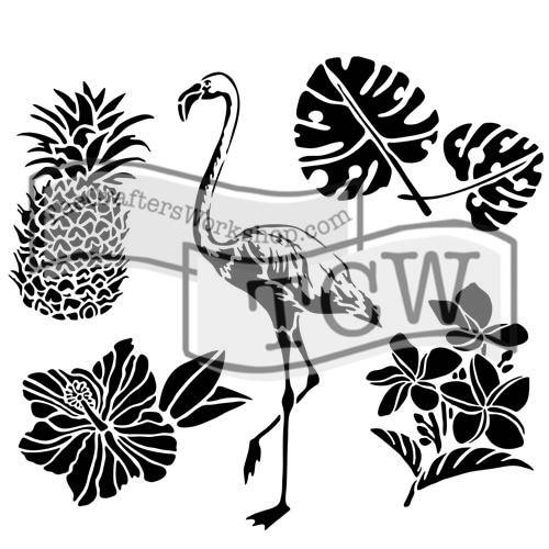 Šablona TCW -  Tropical elements