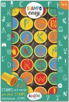 Samonamáčecí razítka StampoEasy, abeceda