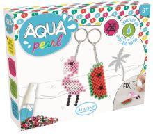 Aqua korálky, dárková sada, Přívěšky na klíče