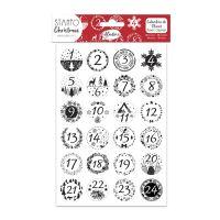 StampoChristmas - Adventní kalendář, vločky