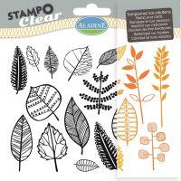 Gelová razítka StampoClear, listy