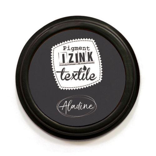 Razítkovací polštářek na textil Izink - černý