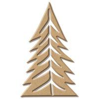 Dřevěný výřez - Strom