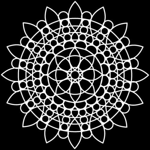 Šablona TCW - Sunflower Mandala