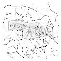 "Šablona 12""x12"" (30,5 x 30,5 cm), Constellations"