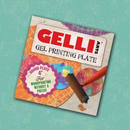 Gelli plate gelová podložka, kruh 4