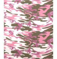 Hot fix, nažehlovací fólie, vojenská růžová