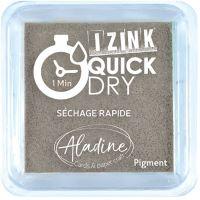 Razítkovací polštářek Izink Quick Dry, rychle schnoucí - šedá