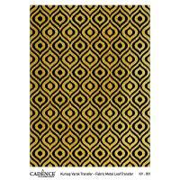 Transferový obrázek na textil - zlaté kapky