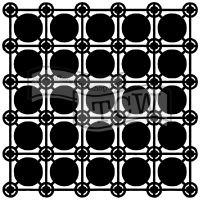 "Šablona TCW 6""x6"" (15,24 x 15,24 cm), Newport Tiles"