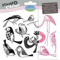 Gelová razítka StampoClear, ptáčci