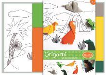 Dárkový set origami pro děti, Dinosauři