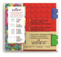 Kreativní deník WAFF, velikost A6, red