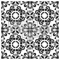 """Šablona 6""""x6"""" (15,2 x 15,2 cm), Fantasy Tile"""