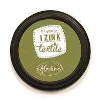 Razítkovací polštářek na textil Izink - zelený