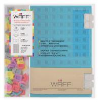 Kreativní deník WAFF, velikost A5, aqua