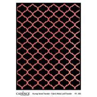 Transferový obrázek na textil - měděná mříž