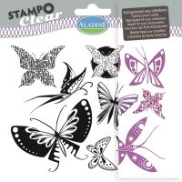 Gelová razítka StampoClear, motýlci