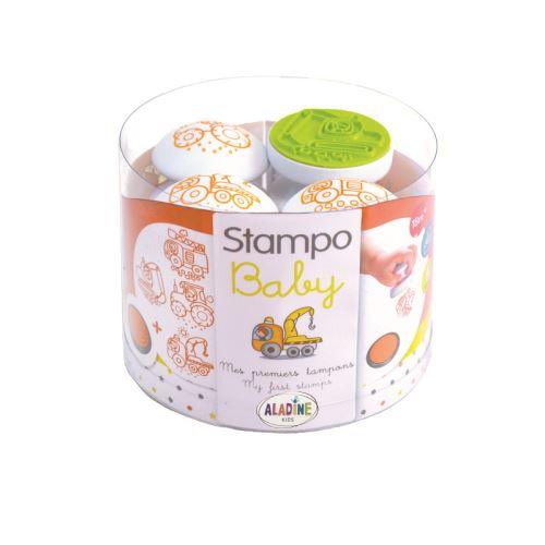 Razítka pro nejmenší Stampo BABY - Stroje 1