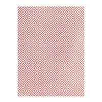 Rýžový papír A3 - metalické kosočtverce - růžové zlato
