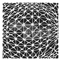 """Šablona 12""""x12"""" (30,5 x 30,5 cm), Geo Netting"""