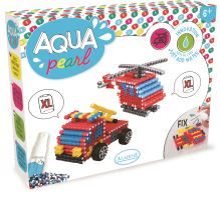 Aqua korálky XL, sada pro kluky, kamión a vrtulník