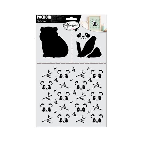 Šablona Aladine, 20x30 cm - Panda