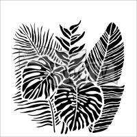 Šablona TCW - Tropical Fronds