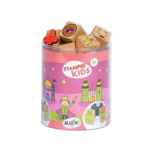 Dětská dřevěná razítka Stampo KIDS - Vílí království 1