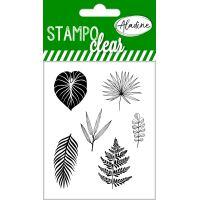 Gelová razítka StampoClear, tropické listy