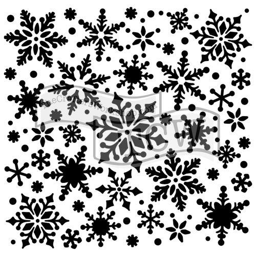 Šablona TCW -  Snowflakes