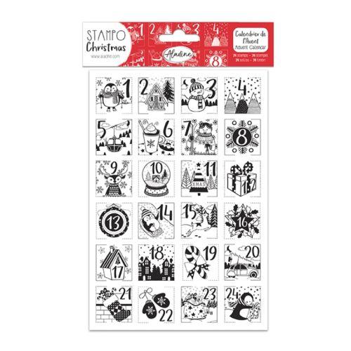 Razítka StampoChristmas - Adventní kalendář