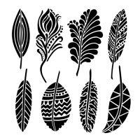 """Šablona 6""""x6"""" , Fancy Feathers, mini"""