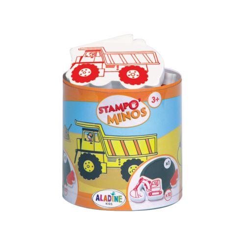 Razítka s příběhem Stampo MINOS - Na stavbě 1