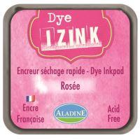 Aladine razítkovací inkoust IZINK DYE, 8 x 8cm, růžová