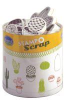 Aladine razítka StampoScrap, kaktusy
