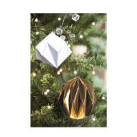 Origami, vánoční origami sada, ozdoby