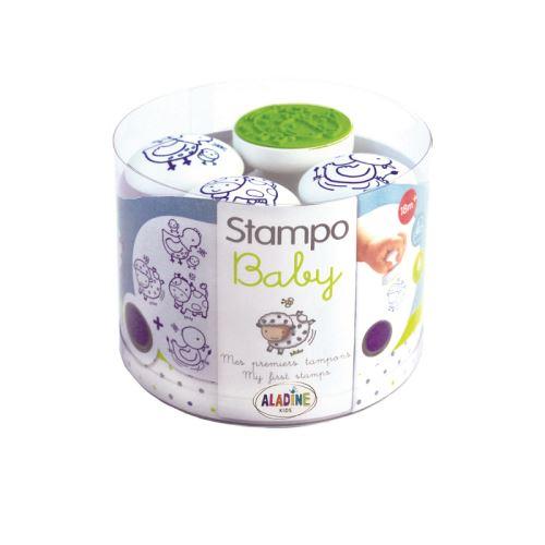 Razítka pro nejmenší Stampo BABY - Domácí zvířátka 1